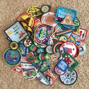 Vintage Girl Scout & Brownie Patches